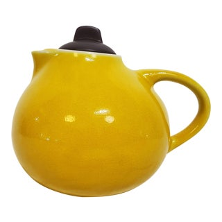 Handmade Ceramic French Teapot With Lid For Sale