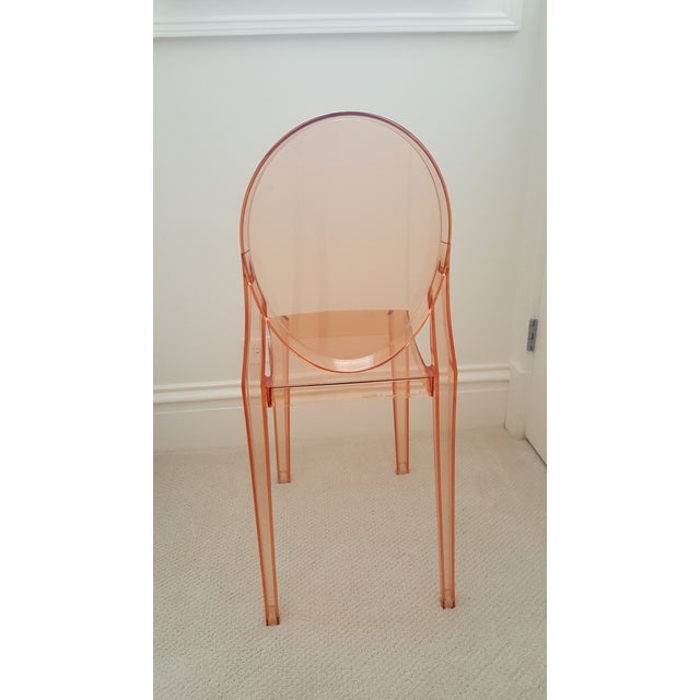 kartell polycarbonate ghost chair chairish