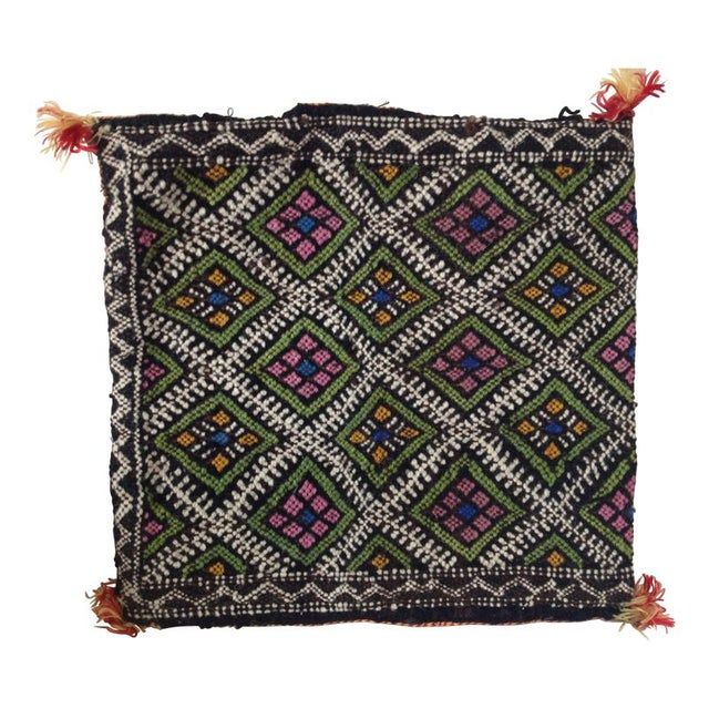 Vintage Moroccan Berber Pillow Case - Image 1 of 2