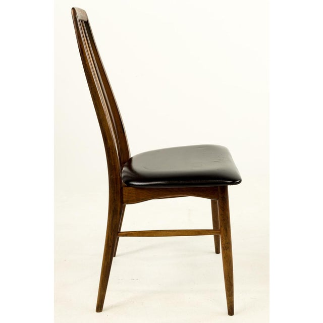 Mid-Century Modern Niels Koefoed Hornslet Rosewood Eva Dining Chairs - Set of 6 For Sale - Image 9 of 12