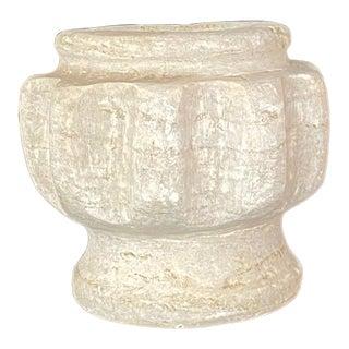 Vintage Turkish Terracotta Oil Jar For Sale