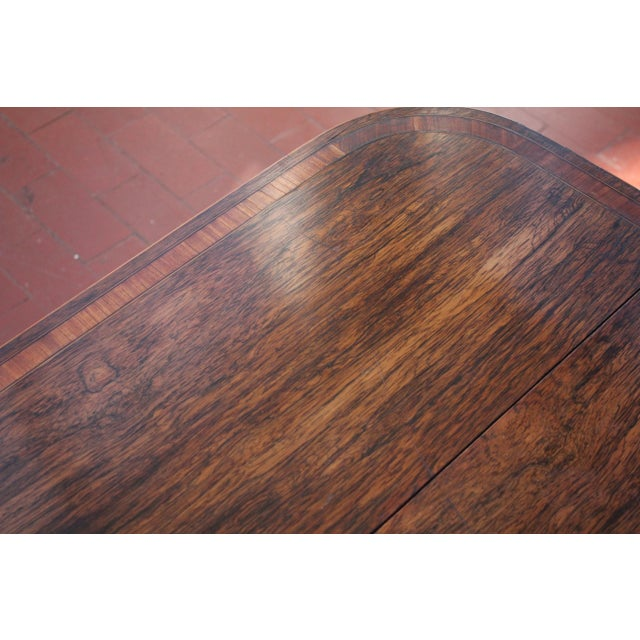 Antique Victorian Rosewood Writer's Desk For Sale In Philadelphia - Image 6 of 13