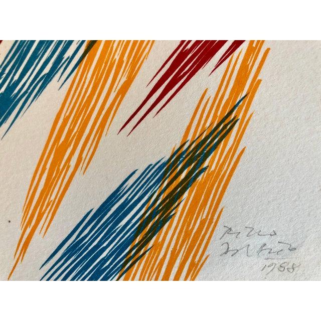 Piero Dorazio Untitled 1988 1988 For Sale In New York - Image 6 of 9
