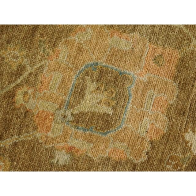 """Hand Knotted Indo-Ushak Floral Design Rug - 8'x 9'8"""" - Image 10 of 10"""