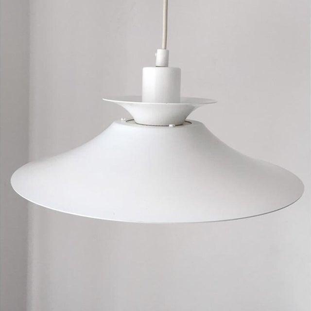 "Poul Henningsen Vintage Danish Mid-Century Pendant Light by Jeka ""Silhuet"" For Sale - Image 4 of 6"