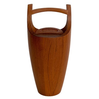 Vintage Teak Ice Bucket by Jens Quistgaard for Dansk For Sale
