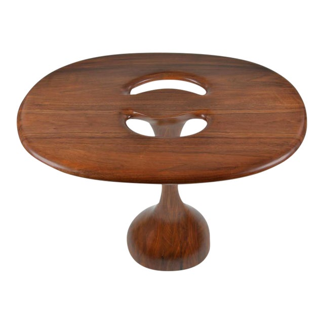 Signed Kovach Carved Wood Table - Image 1 of 10