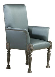 Image of Robin's Egg Blue Accent Chairs