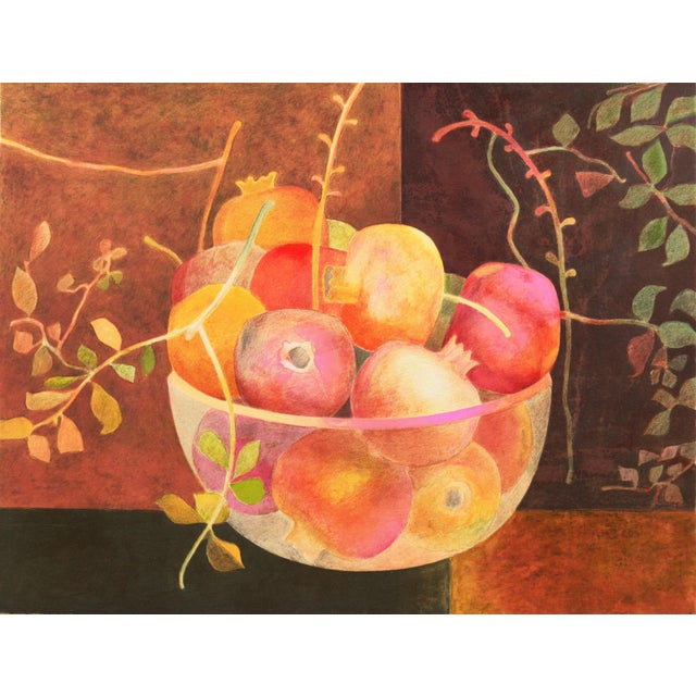 Still Life of Pomegranates by Pierre Garcia Fons For Sale - Image 10 of 10