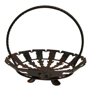 Spanish Iron Basket