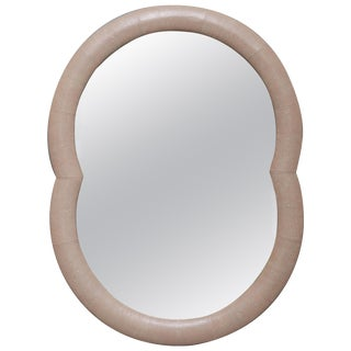 Leather Mirror by Serge De Troyer, Italy, 2018 For Sale