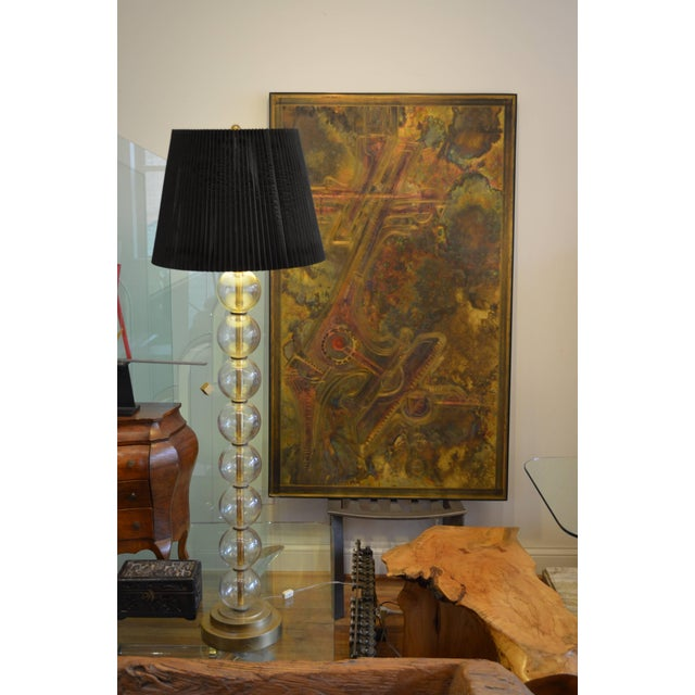 Bernhard Rohne Brass Acid Etched Wall Art For Sale In Chicago - Image 6 of 11