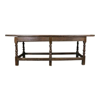 Jacobean Oak Refectory Table For Sale