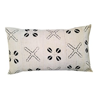 White & Black Mud Cloth Pillow Cover