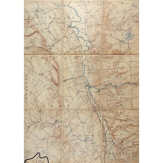 Port Leyden New York 1906 Us Geological Survey Folding Map For Sale