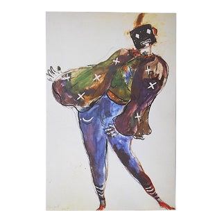 Vintage Marc Chagall Lithograph-Folio Size-c.1969 For Sale