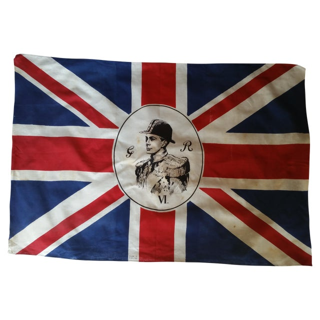 Vintage Traditional English King George Flag - Image 1 of 4