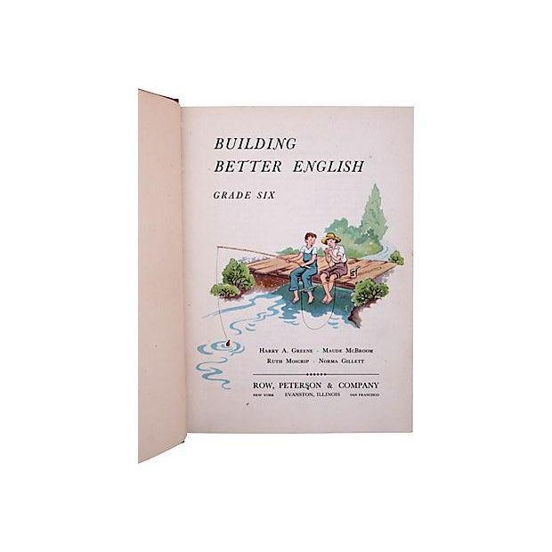 Vintage Building Better English Grade Six hardcover written by Harry A. Green, Maude McBroom, Ruth Moscrip, Norma Gillett....