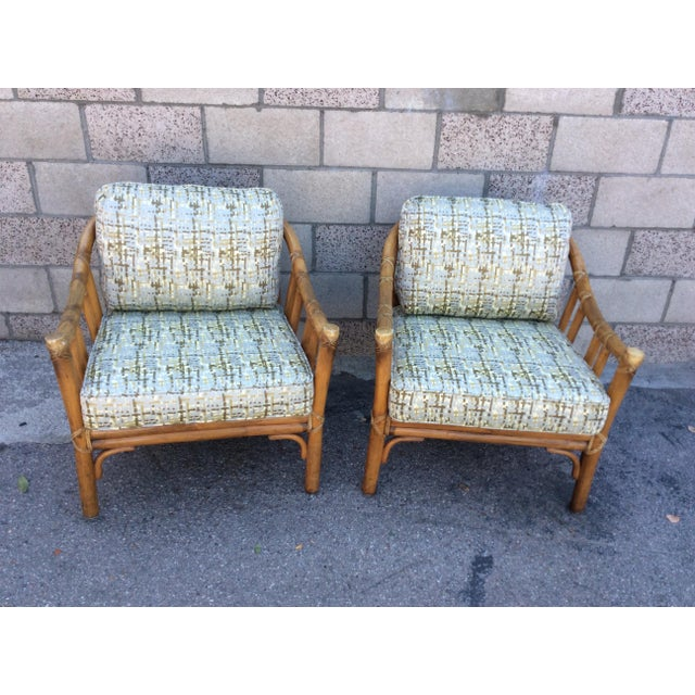 Vintage McGuire Chairs- A Pair For Sale In Los Angeles - Image 6 of 11
