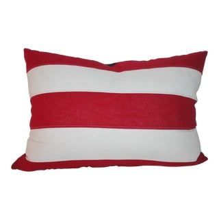 Double Sided Linen american Flag Pillow For Sale