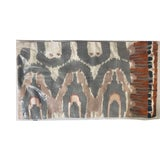 Image of West Elm Ikat Pillow Cover For Sale