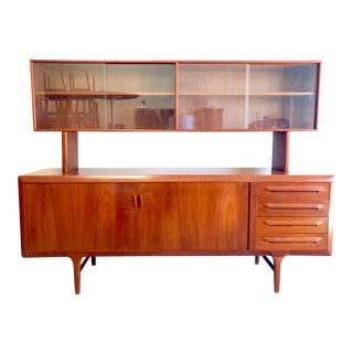 20th Century Danish Modern Ib Kofod-Larsen Credenza For Sale