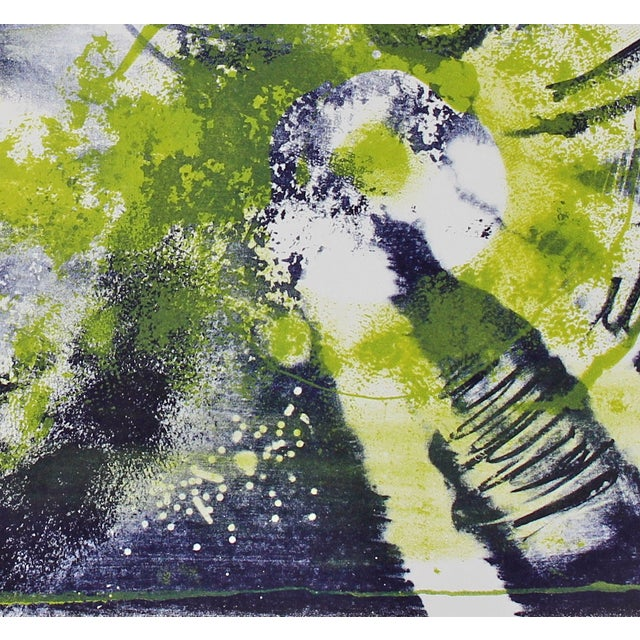 Mid-Century Abstract Lithograph by Jerry Opper - Image 3 of 3