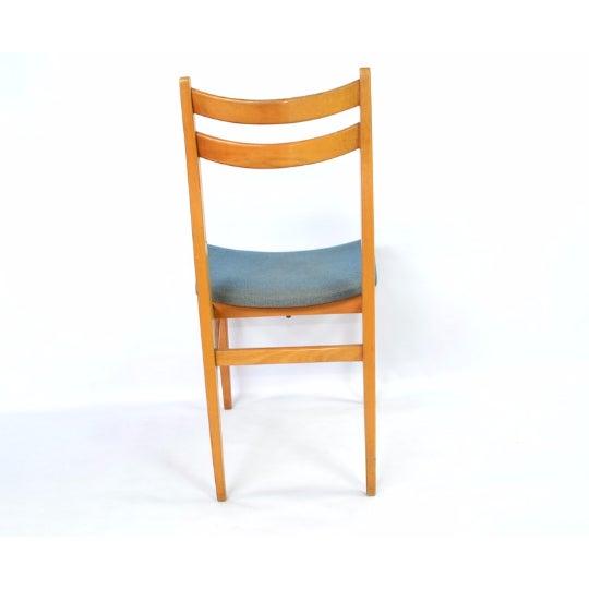 Danish Blonde Modern Chairs - Set of 6 - Image 5 of 6