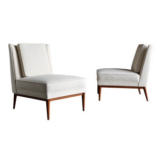 Paul McCobb Slipper Chairs for Custom Craft, Circa 1952 For Sale
