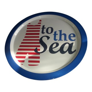 To the Sea Serving Tray