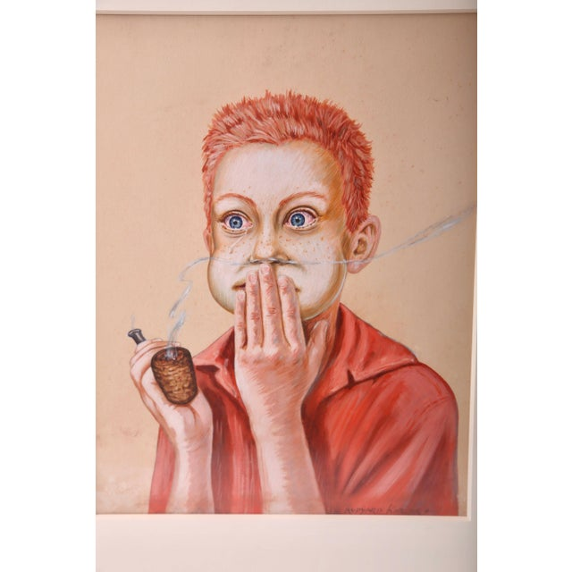 This piece definitely captures the unhappy consequences of youth exploring his what his parents would have forbidden....