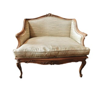 Antique French Style Carved Chair