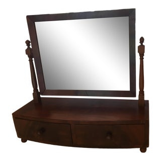 Antique Shaving/Table Mirror (Free Shipping) For Sale