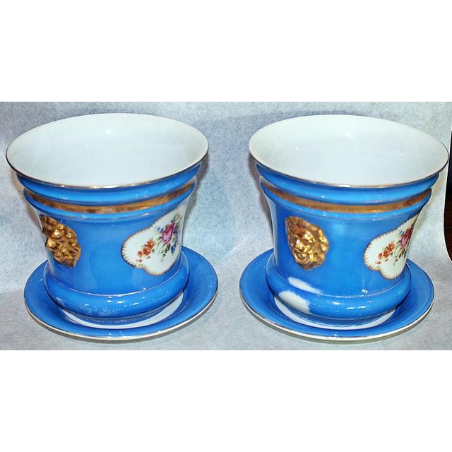 Carl Tielsch Porcelain Planters - A Pair - Image 4 of 7