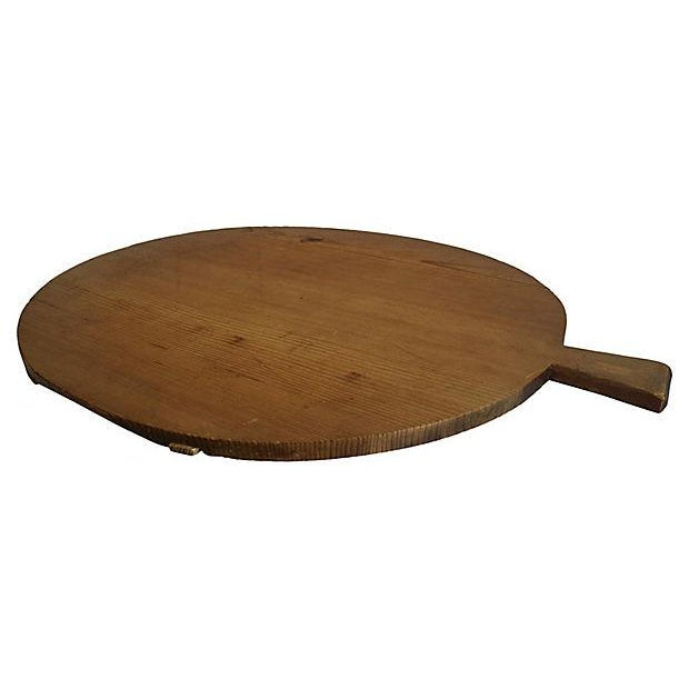 1920s French Harvest Cheese Board - Image 2 of 3