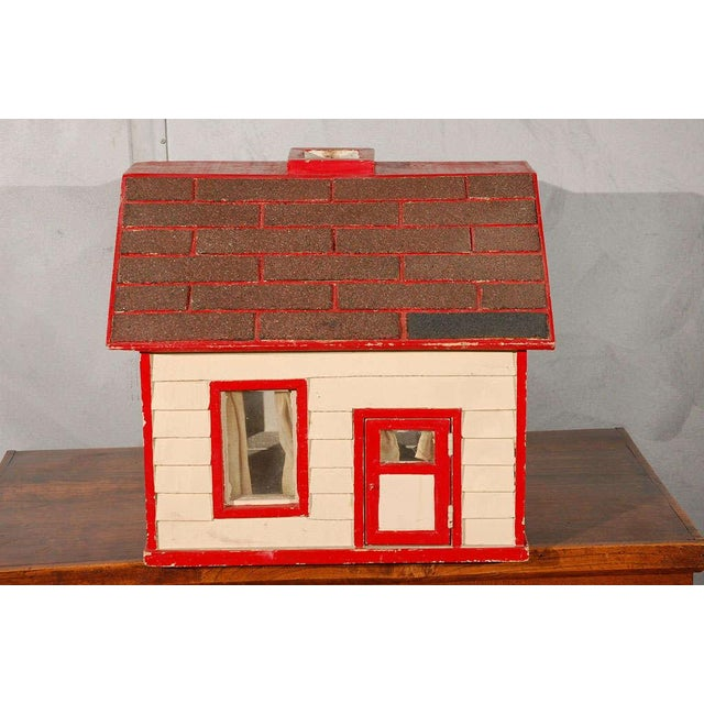 Folk Art House / Flag Stand For Sale In Los Angeles - Image 6 of 10