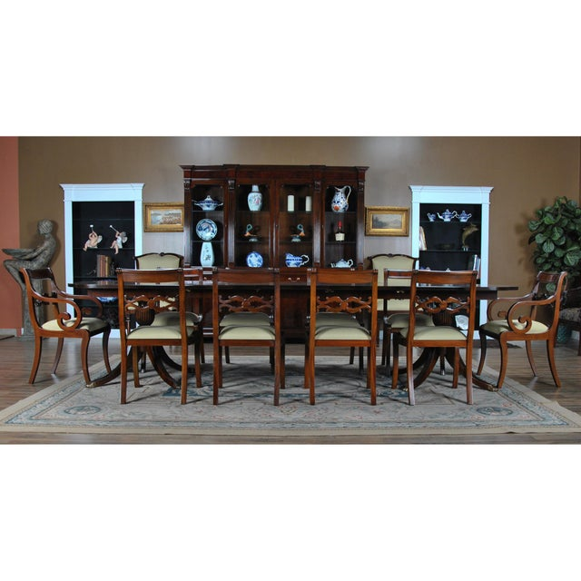 The Philadelphia Empire Arm Chair from NiagaraFurniture is a combination of the finest materials available. A solid...