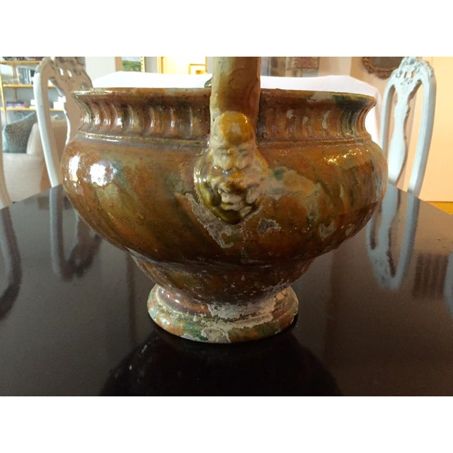 French Pottery Potpourri Basket - Image 3 of 5