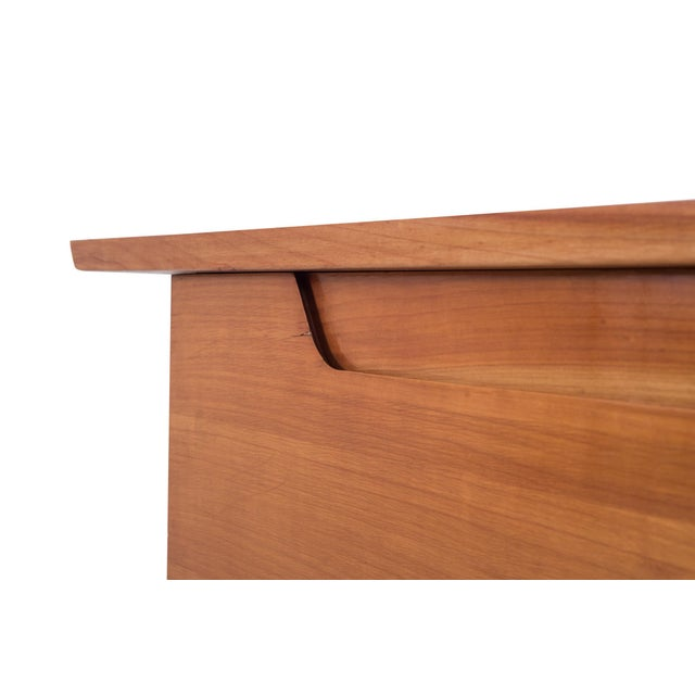 Cherry Wood De Coene Mid-Century Modern Two Tone Sideboard For Sale - Image 7 of 10