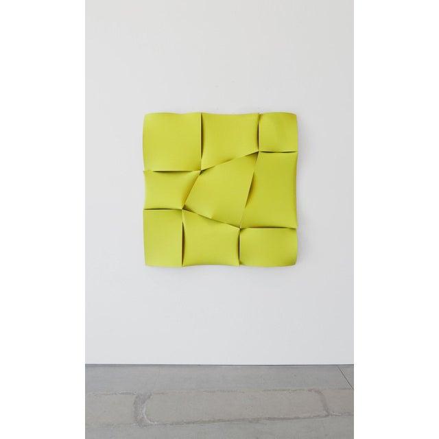 """Jan Maarten Voskuil """"Non-Fit Broken Light Yellow"""" Acrylics on Linen, 2017 For Sale - Image 10 of 10"""