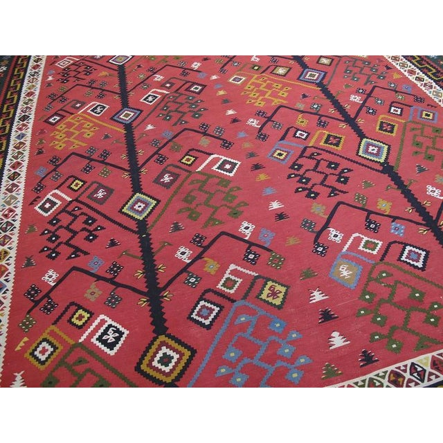 Antique Sharkoy Kilim - Image 3 of 10