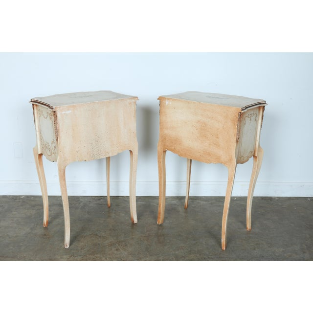 French Style Nightstands - A Pair - Image 11 of 11