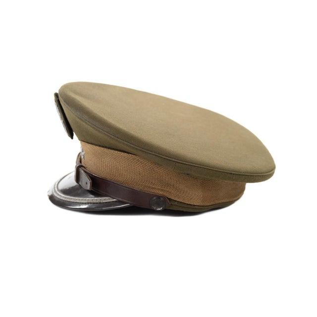 Vintage Polish 3 Stars Military Officer Hat - Image 5 of 9