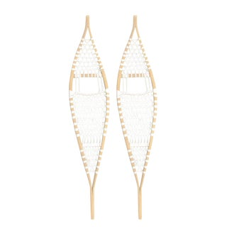 Wilcox & Williams Ojibwa Snowshoes, Pair For Sale
