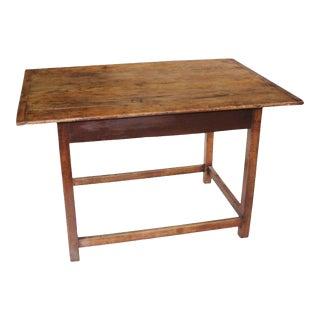 18th Century Pennsylvania White Pine Table For Sale