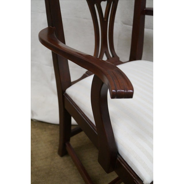 Lexington Chippendale Dining Chairs - Set of 8 For Sale In Philadelphia - Image 6 of 10