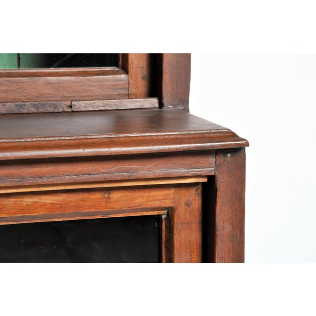 1950s British Colonial Bookcase For Sale - Image 11 of 13
