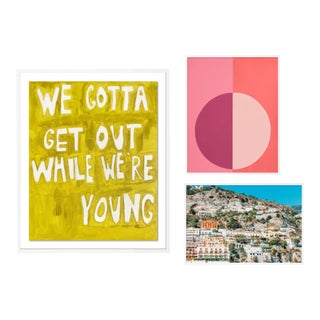 Sunkissed Gallery Wall, Set of 3