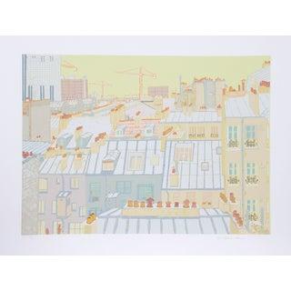 Marion McClanahan - Paris Roofs Serigraph