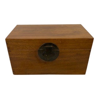 Early 20th Century English Large Antique Box For Sale